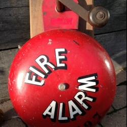 British Fire Alarm Bell