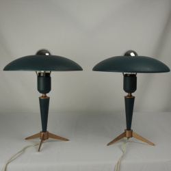 Pair of Louis Kalff table lights