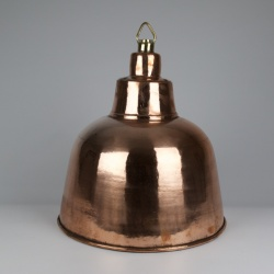 Rare ceiling copper plated brass lights