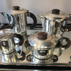 Coffee tea set by Ercuis 1925