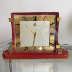 Rare art deco clock Just Hour Lavigne