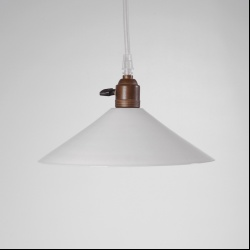 Series of opaline ceiling lights