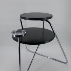 Thonet smoker table art deco modernist tubular structure