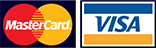Pay with Visa & Mastercard